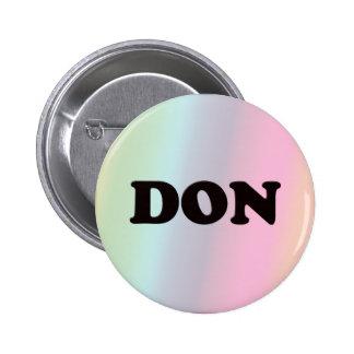Don 2 Inch Round Button