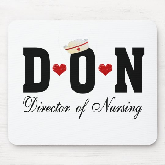 DON Director of Nursing Mouse Pad