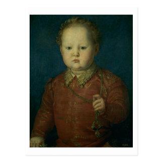Don Garcia de Medici (?) c.1550 (oil on panel) Postcard