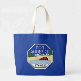 Don Goodrich Auto Repair Jumbo Tote Bag