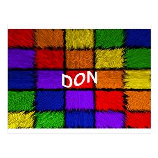 DON POSTCARD