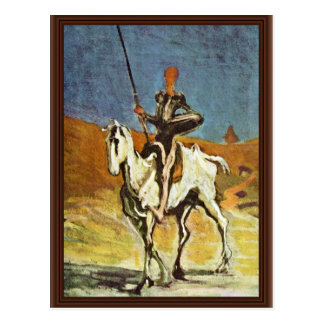 Don Quixote And Sancho Panza By Daumier Honoré (Be Postcard