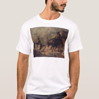 Don Quixote and Sancho Panza by Honoré Daumier T-Shirt