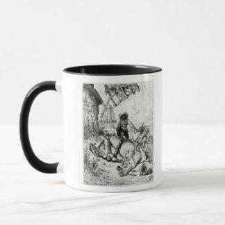 Don Quixote and the Windmills Mug