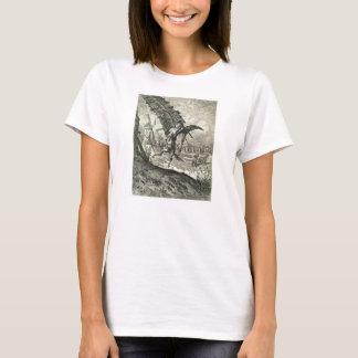 Don Quixote and the Windmills T-Shirt