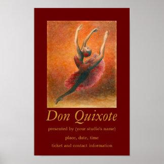 Don Quixote Ballet Art Poster