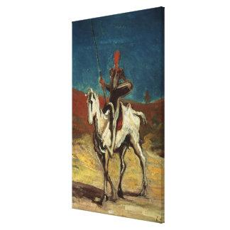 Don Quixote, c.1865-1870 Canvas Print