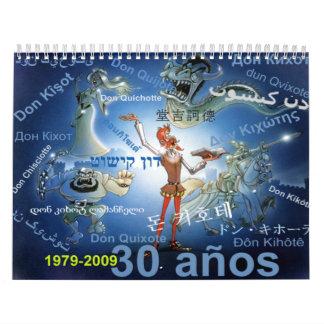 DON QUIXOTE - Calendar - Calendario