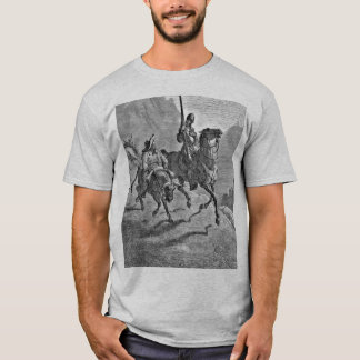 Don Quixote Gray T-Shirt