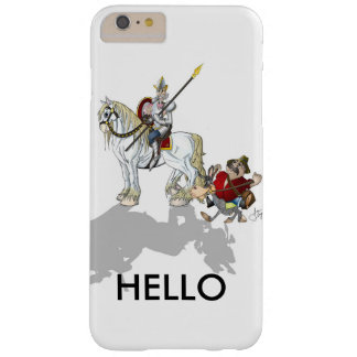 Don Quixote HELLO Barely There iPhone 6 Plus Case