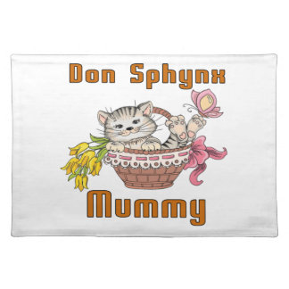 Don Sphynx Cat Mom Placemat