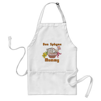 Don Sphynx Cat Mom Standard Apron
