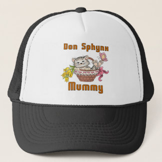 Don Sphynx Cat Mom Trucker Hat