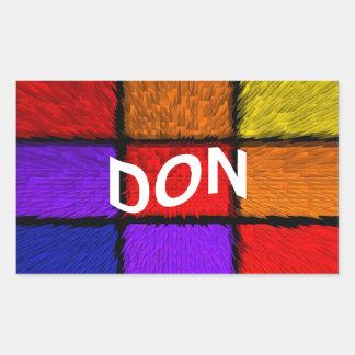 DON STICKER