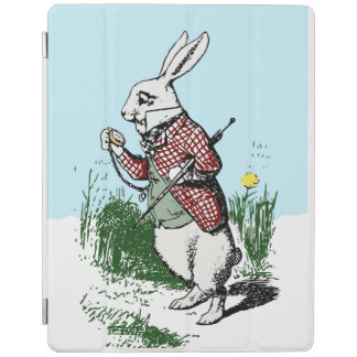 Don't be late! Alice in wonderland white rabbit iPad Cover