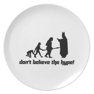 Don't believe the hype! 2 party plates