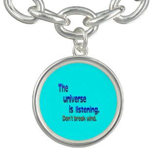 Don t Break Wind - Universe is Listening Bracelets