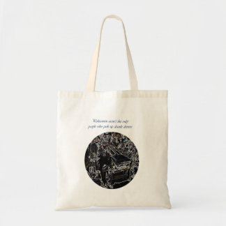 Don t drink and drive canvas bag