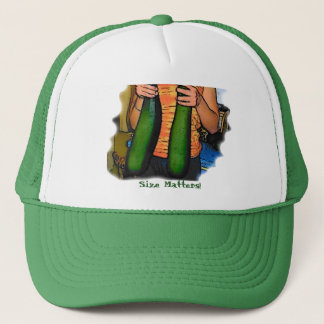"Don't Hate My ""Double Z"" Zucchinis! Trucker Hat"