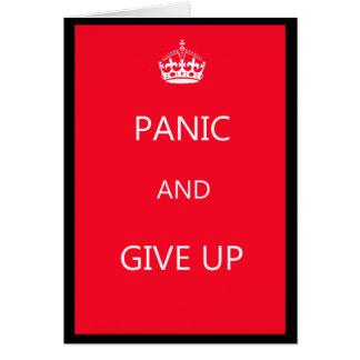 Don t Keep Calm Card