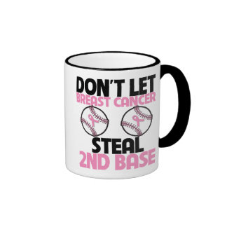 Don t Let Breast Cancer Steal 2nd Base Coffee Mug