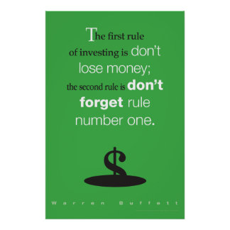 Don't Lose Money Poster
