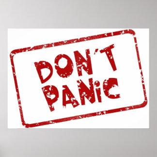 Don t Panic Poster