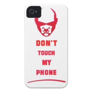 don t touch my phone blackberry cases