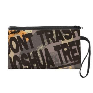 Don t Trash Joshua Tree Wristlet Clutches
