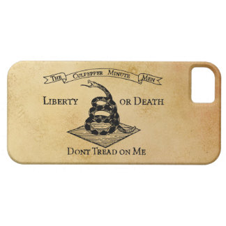 Don't Tread on Me Case For The iPhone 5