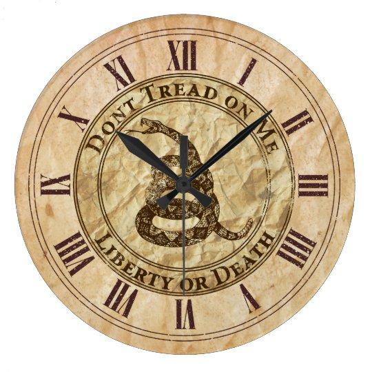 Don't Tread on Me Clock