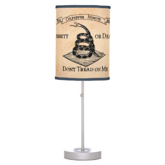 Don't tread on Me Table Lamp