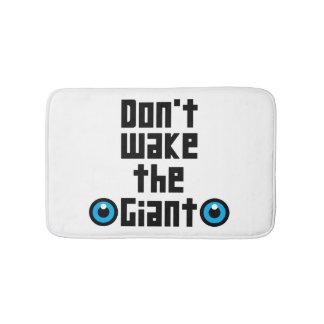 Don't wake the Giant Bath Mat