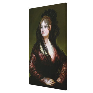 Dona Isabel de Porcel, exh. 1805 Gallery Wrapped Canvas