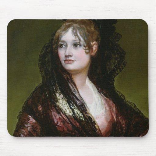 Dona Isabel de Porcel, exh. 1805 Mouse Pad