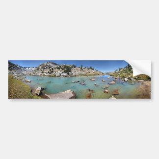Donahue Pass Lake - Yosemite Bumper Sticker