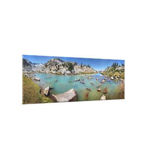 Donahue Pass Lake - Yosemite Canvas Print