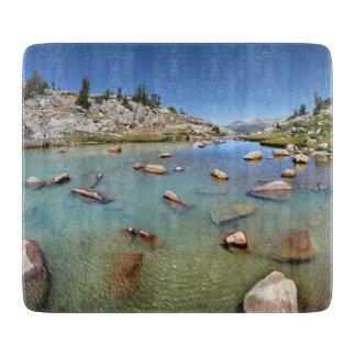 Donahue Pass Lake - Yosemite Cutting Board