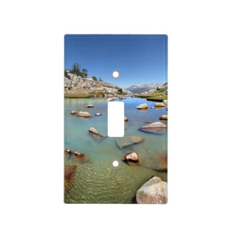 Donahue Pass Lake - Yosemite Light Switch Cover