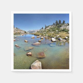 Donahue Pass Lake - Yosemite Napkin