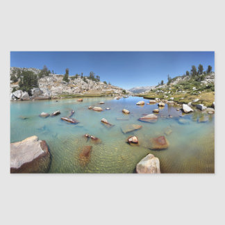 Donahue Pass Lake - Yosemite Sticker
