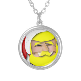 Donald Claus Silver Plated Necklace