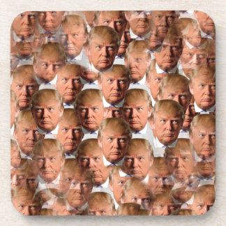donald drumpf drink coasters