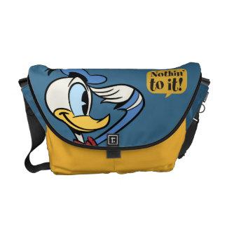 Donald Duck 3 Messenger Bag