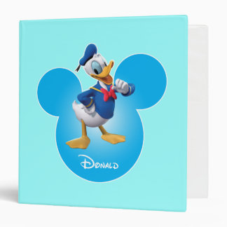 Donald Duck 3 Ring Binder