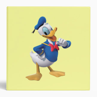 Donald Duck | Arm Up Vinyl Binders
