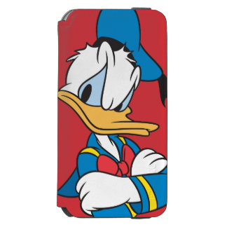 Donald Duck | Arms Crossed Incipio Watson™ iPhone 6 Wallet Case
