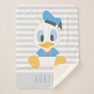 Donald Duck | Baby Donald - Add Your Name Sherpa Blanket