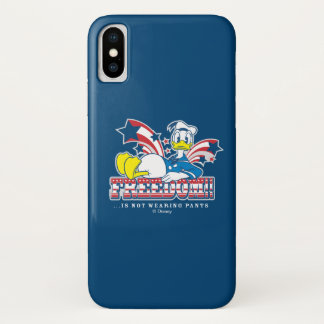 Donald Duck | Freedom iPhone X Case