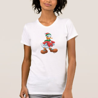 Donald Duck in Winter Clothes Shirt